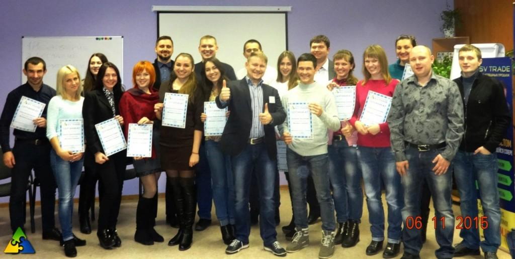Новые выпускники Экспресс-курса Менеджера по продажам